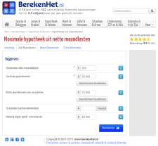 BerekenHet.nl versie 2013