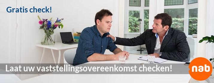De nationale Adviesbalie :: Laat uw vaststellingsovereenkomst checken!